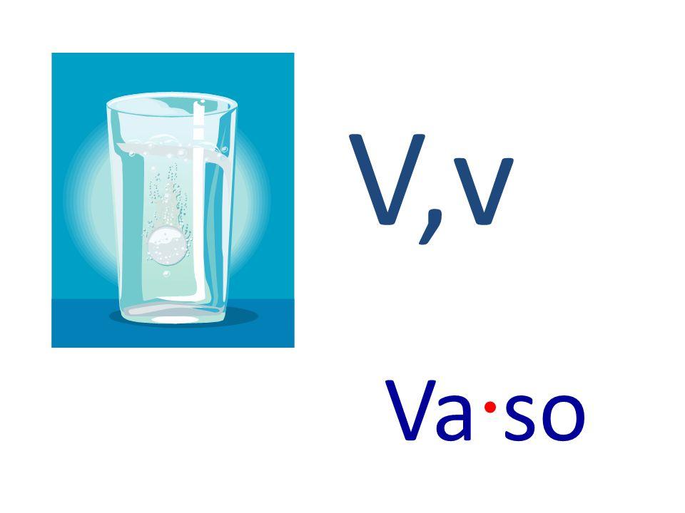 V,v Va · so