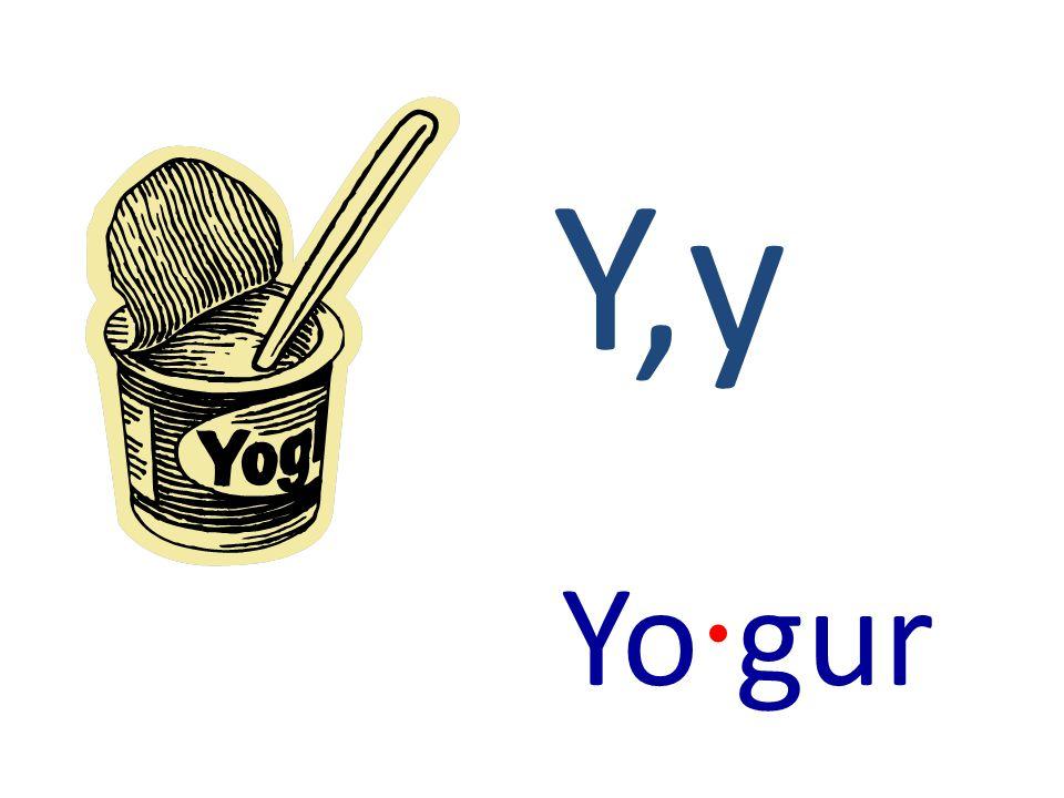 Y,y Yo · gur