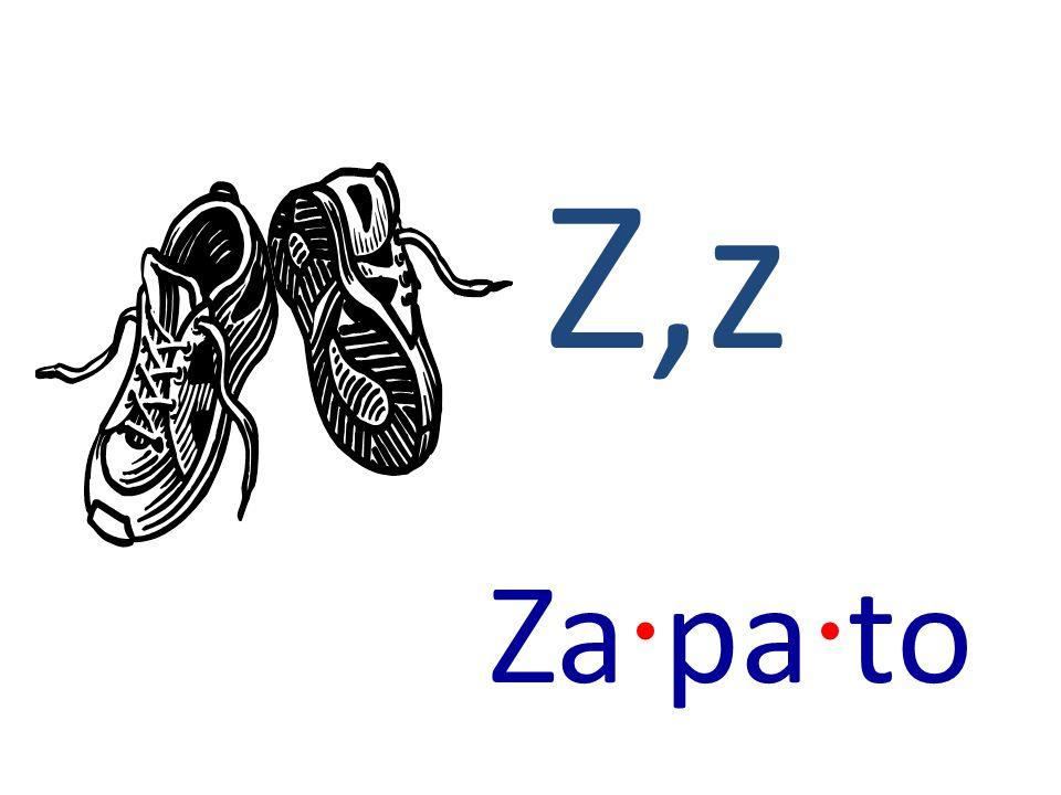 Z,z Za · pa · to
