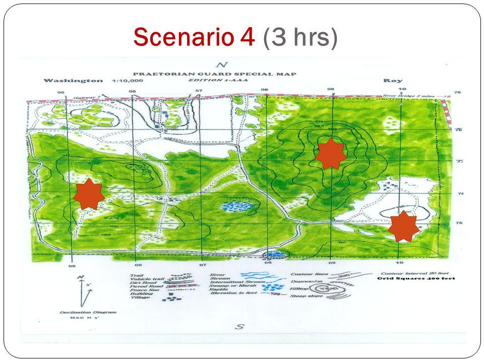 Scenario 4 (3 hrs)