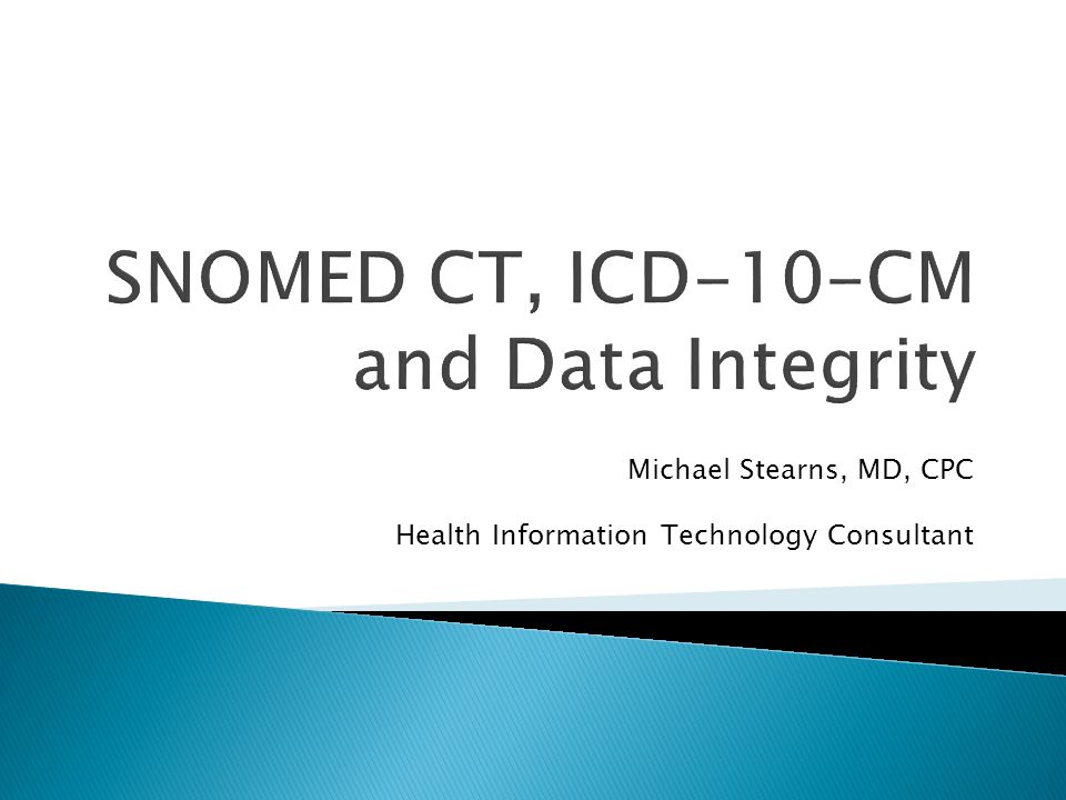 Michael Stearns, MD, CPC Health Information Technology Consultant