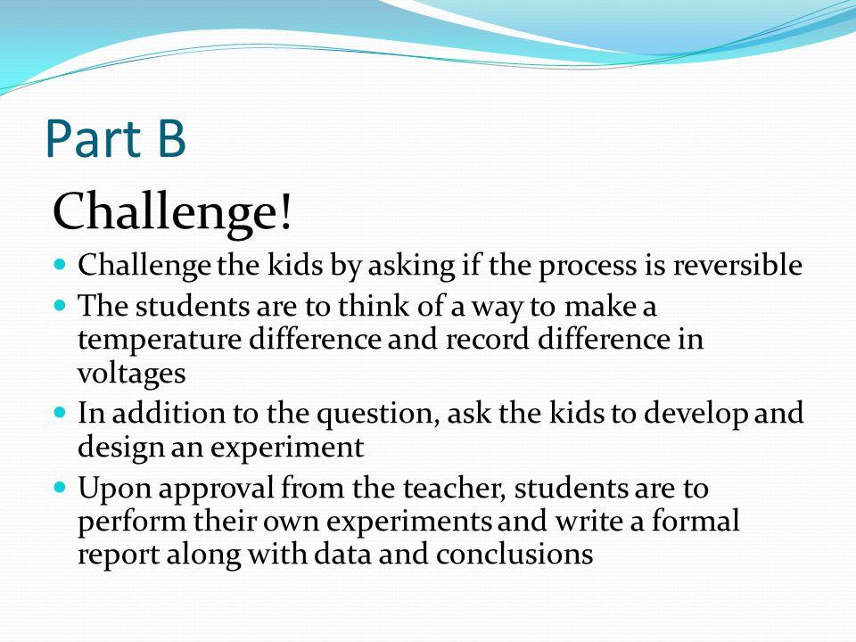 Part B Challenge.
