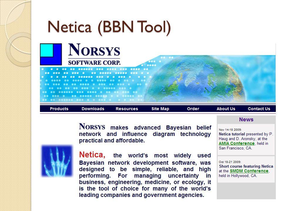 Netica (BBN Tool)