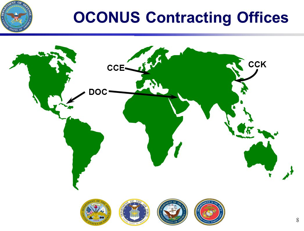 39 Unified Command Organization NCA NINE UNIFIED COMMANDS (SHOWN ON NEXT SLIDE) Chairman of Joint Chief of Staff President Secretary of Defense
