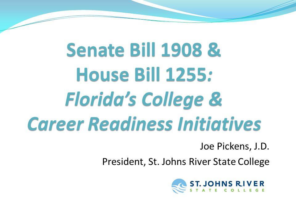 Joe Pickens, J.D. President, St. Johns River State College