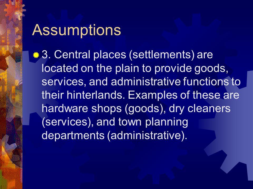 Assumptions  3.