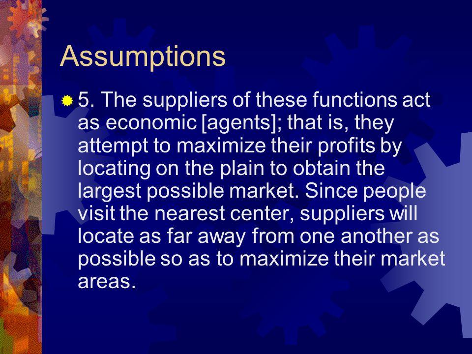 Assumptions  5.