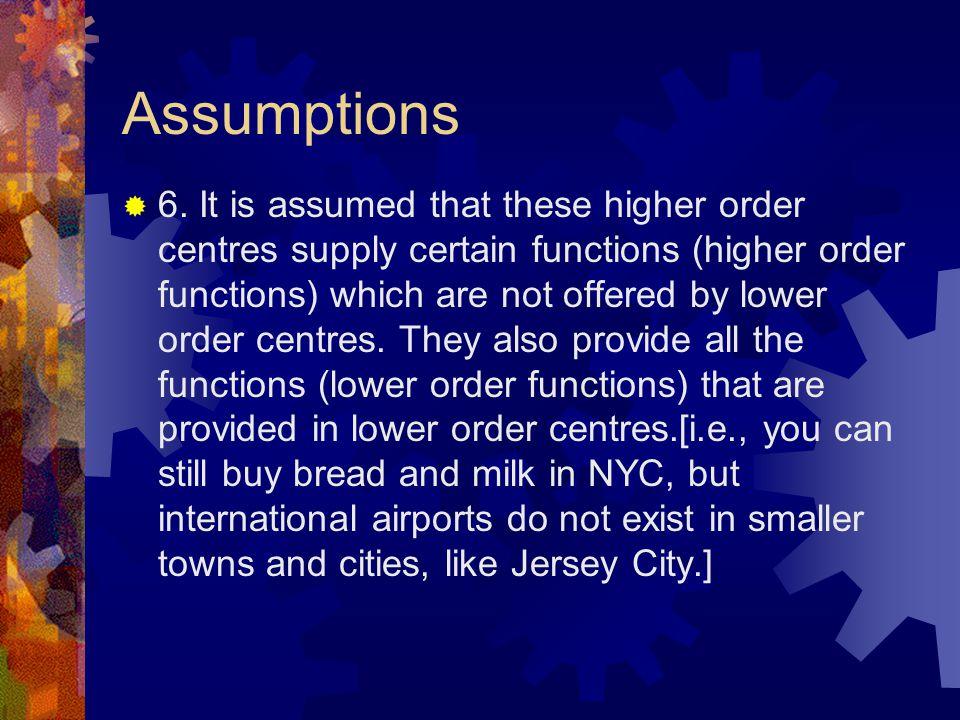 Assumptions  6.