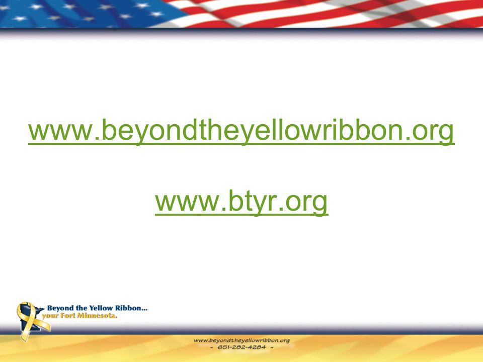www.beyondtheyellowribbon.org www.btyr.org