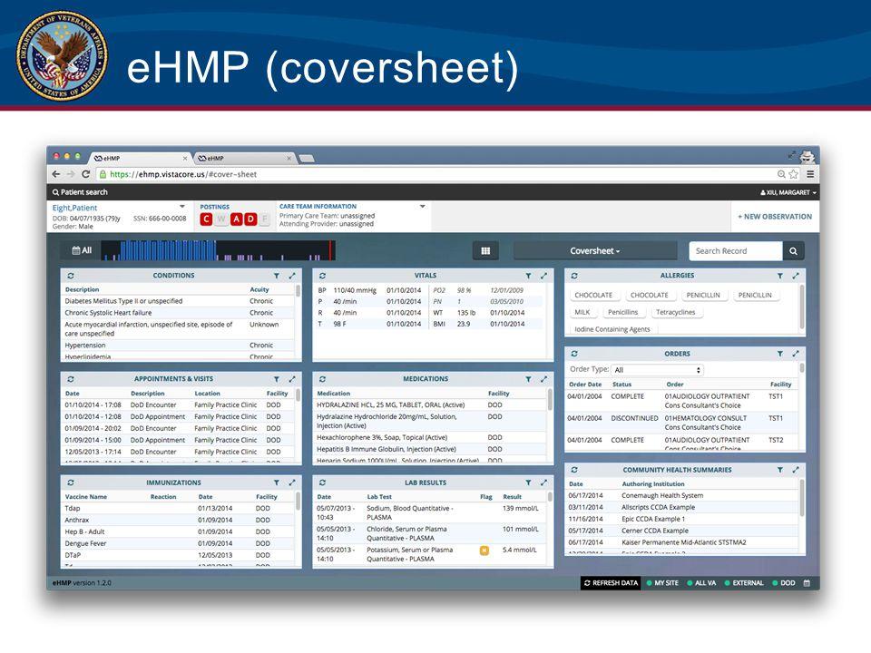 eHMP (coversheet)