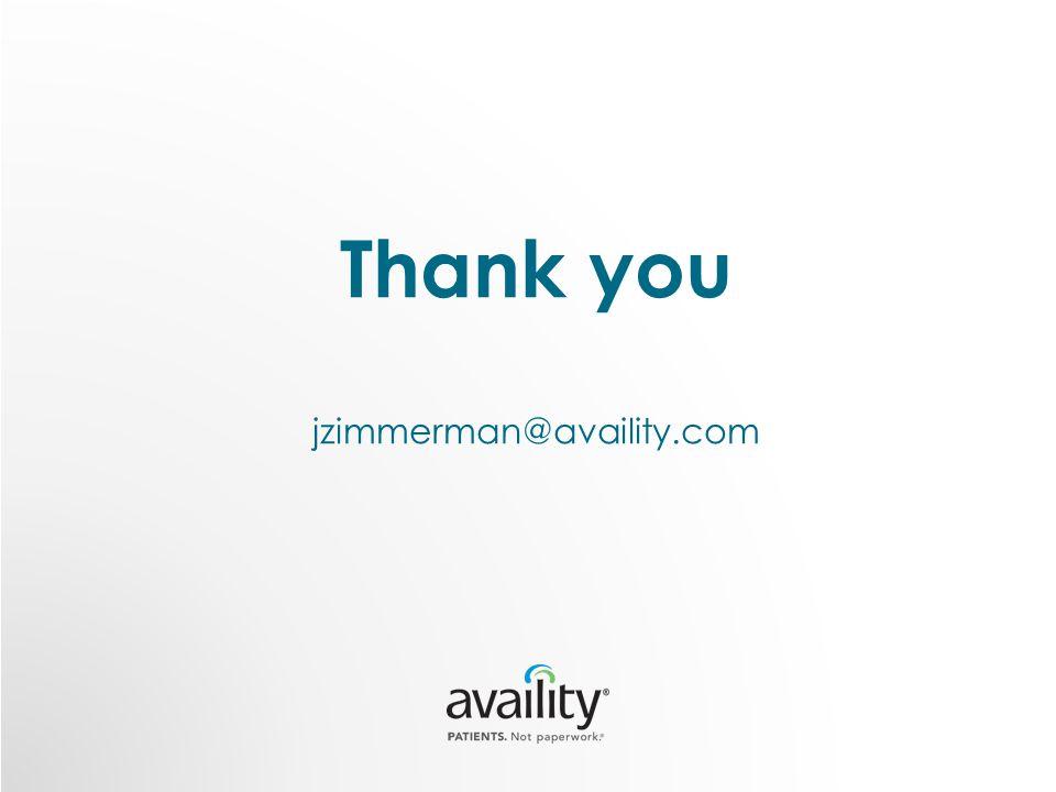 Thank you jzimmerman@availity.com