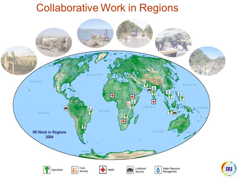 Collaborative Work in Regions