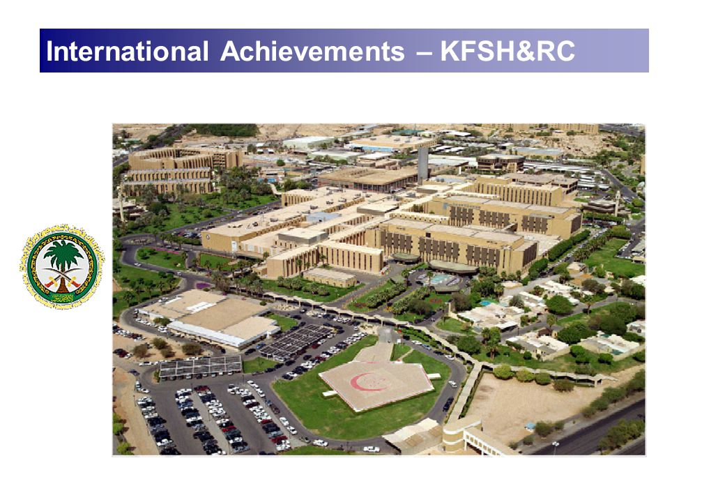 International Achievements – KFSH&RC