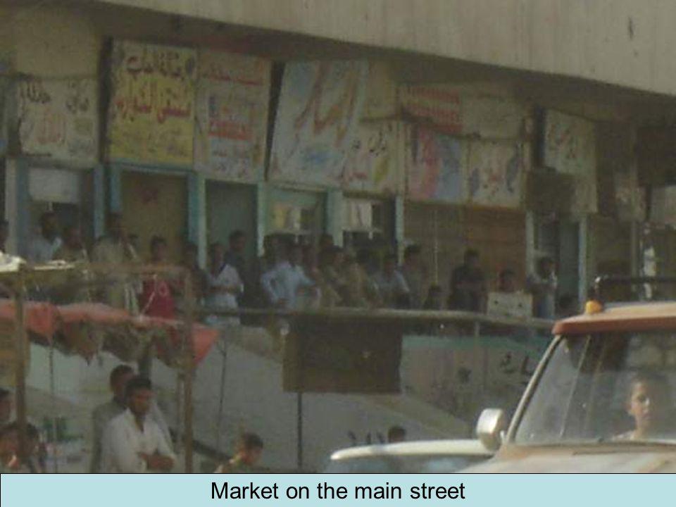 Market on the main street