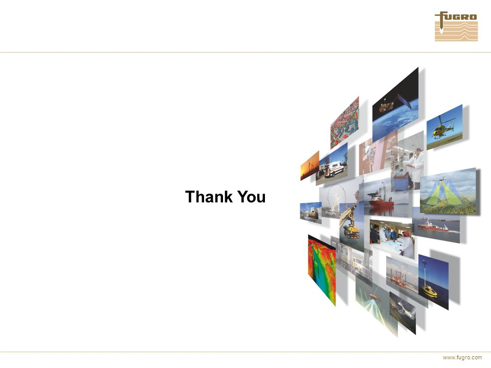 www.fugro.com Thank You