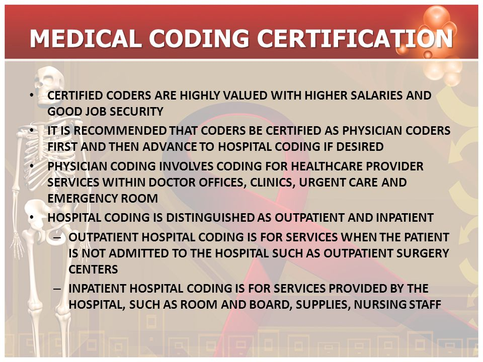 MEDICAL CODING AS A CAREER CHOICE AS A CAREER, MEDICAL CODING AND BILLING JOBS ARE EXAGGERATED TOO OFTEN BY TOO MANY WITH FEW PROMISES FULFILLED QUALITY IS CRITICAL AND YOU NEED TO MAKE YOUR DECISION TO START THIS CAREER WITH A QUALITY COMPREHENSIVE EDUCATION CREDIBLE TRAINING INVOLVES MANY HOURS OF INSTRUCTION BY QUALIFIED INSTRUCTORS FOR THERE IS MUCH TO KNOW – TRAINING SHOULD INCLUDE MEDICAL BILLING, TERMINOLOGY, AND HEALTH ADMINISTRATION
