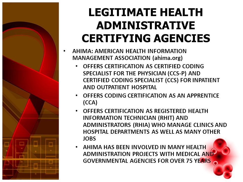MEDICAL CODING CERTIFICATION CERTIFIED CODERS ARE HIGHLY VALUED WITH HIGHER SALARIES AND GOOD JOB SECURITY IT IS RECOMMENDED THAT CODERS BE CERTIFIED AS PHYSICIAN CODERS FIRST AND THEN ADVANCE TO HOSPITAL CODING IF DESIRED PHYSICIAN CODING INVOLVES CODING FOR HEALTHCARE PROVIDER SERVICES WITHIN DOCTOR OFFICES, CLINICS, URGENT CARE AND EMERGENCY ROOM HOSPITAL CODING IS DISTINGUISHED AS OUTPATIENT AND INPATIENT – OUTPATIENT HOSPITAL CODING IS FOR SERVICES WHEN THE PATIENT IS NOT ADMITTED TO THE HOSPITAL SUCH AS OUTPATIENT SURGERY CENTERS – INPATIENT HOSPITAL CODING IS FOR SERVICES PROVIDED BY THE HOSPITAL, SUCH AS ROOM AND BOARD, SUPPLIES, NURSING STAFF