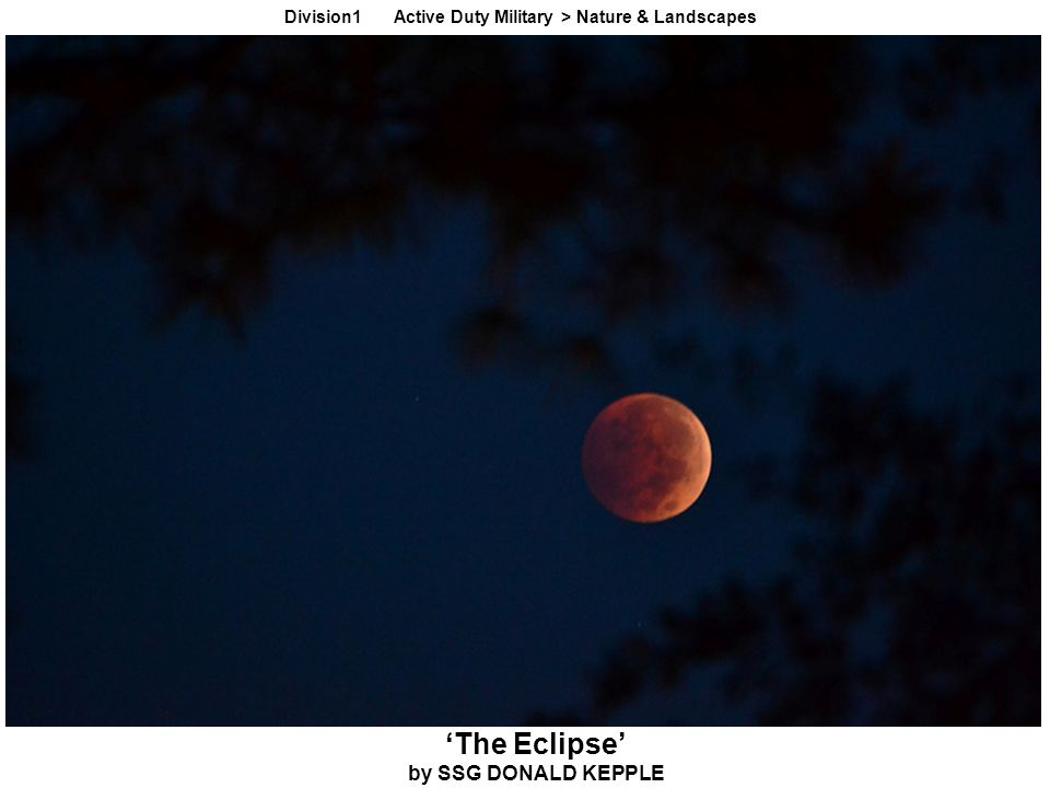 'The Eclipse' by SSG DONALD KEPPLE Division1 Active Duty Military > Nature & Landscapes