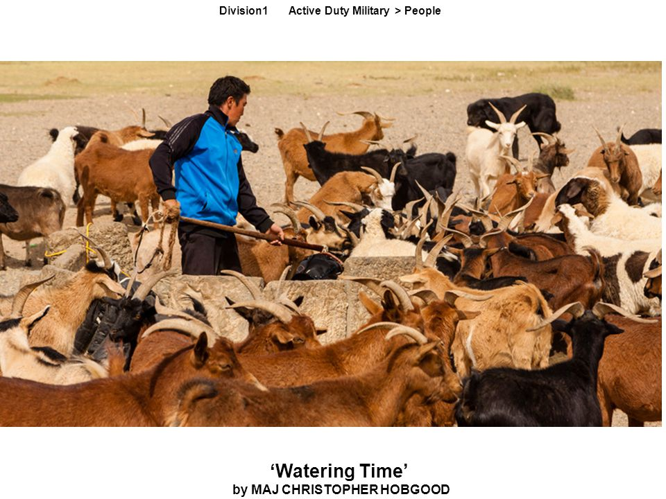 'Watering Time' by MAJ CHRISTOPHER HOBGOOD Division1 Active Duty Military > People