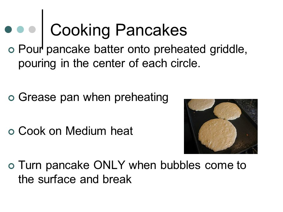 """Cooking Crepes Crepes are made by pouring batter into pan then swirling to a thin pancake, covering pan. The term """"set"""" refers to batters that have be"""