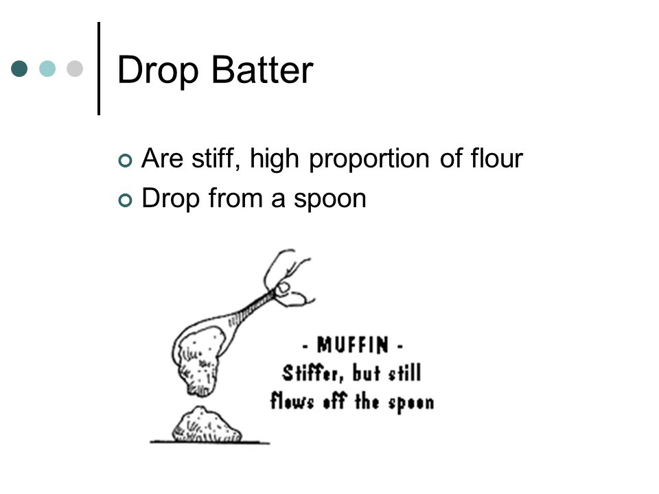 Cooking Waffles Waffle batter is thicker than pancake batter, less liquid and more flour. Place a ladle full of batter in the center of the waffle iro