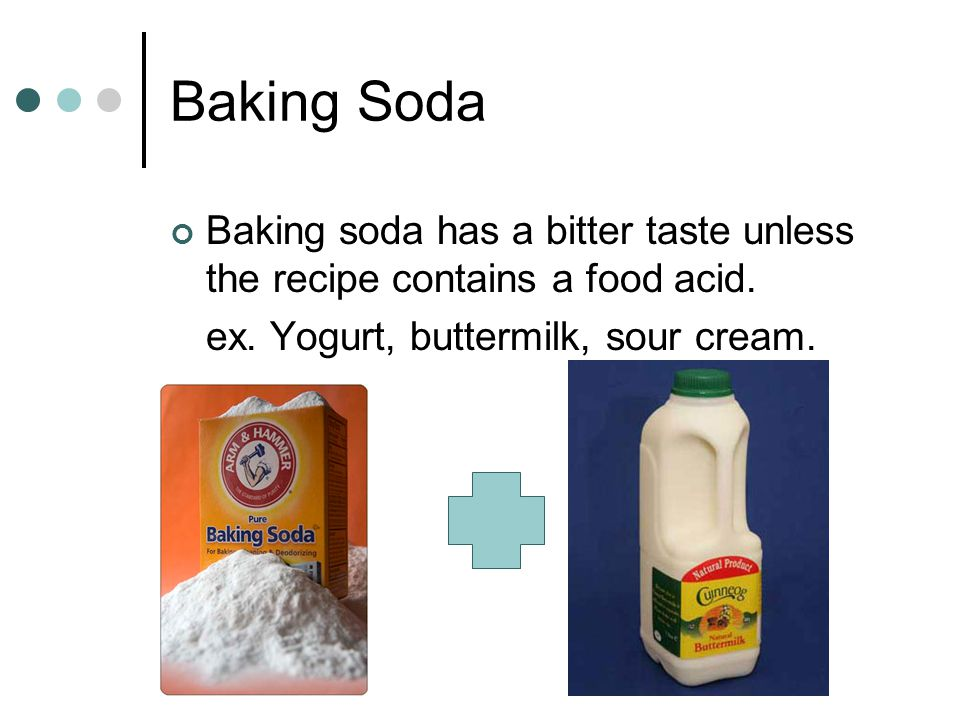 The primary leavening agents in quick breads are: Baking Soda Baking Powder