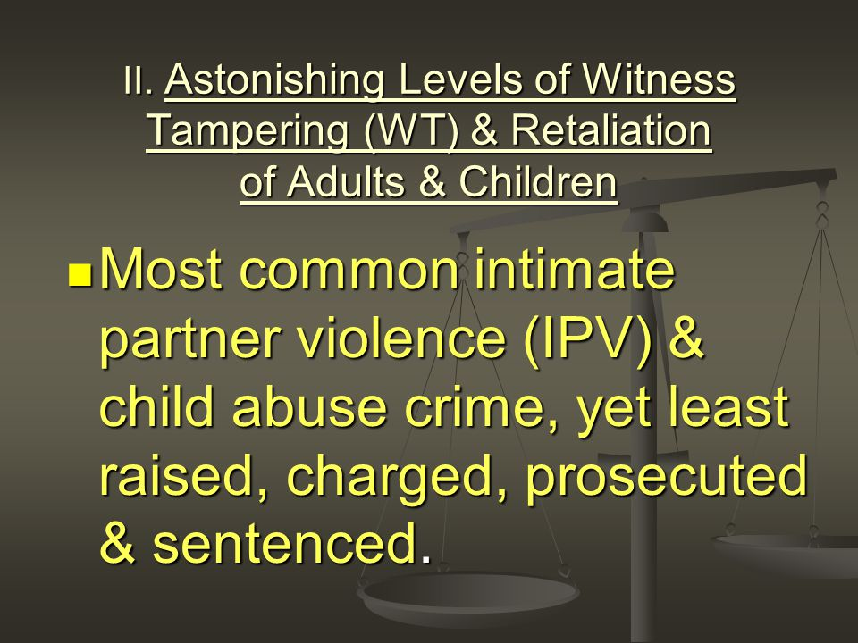 Proving Intent Many states allow prior misconduct evidence in domestic violence cases as probative of intent, to rebut allegations by the defendant that the injuries suffered by the victim were the result of a mistake. Many states allow prior misconduct evidence in domestic violence cases as probative of intent, to rebut allegations by the defendant that the injuries suffered by the victim were the result of a mistake. Robertson v.