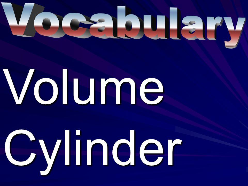 VolumeCylinder