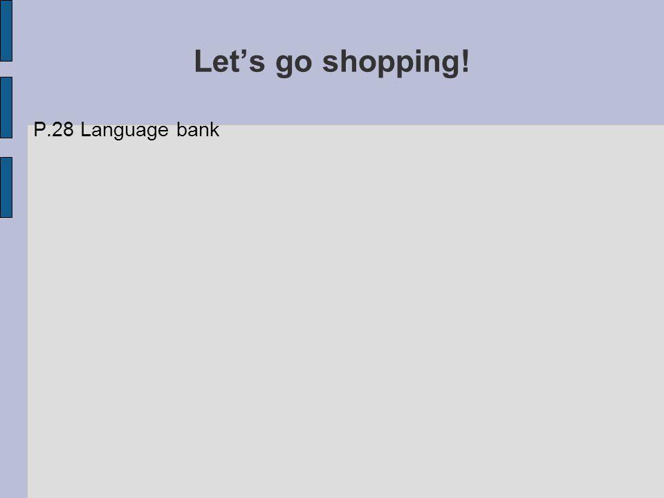 P.28 Language bank