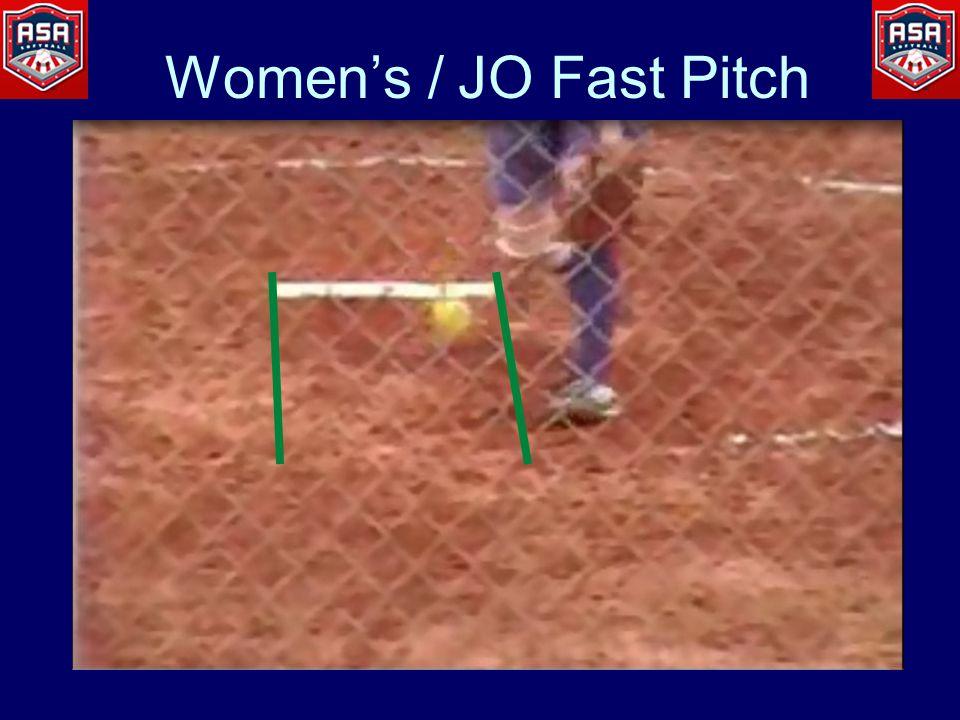 Women's / JO Fast Pitch