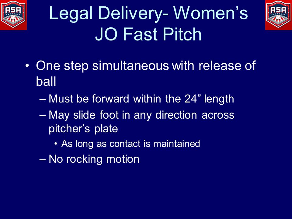 Women's / JO Fast Pitch