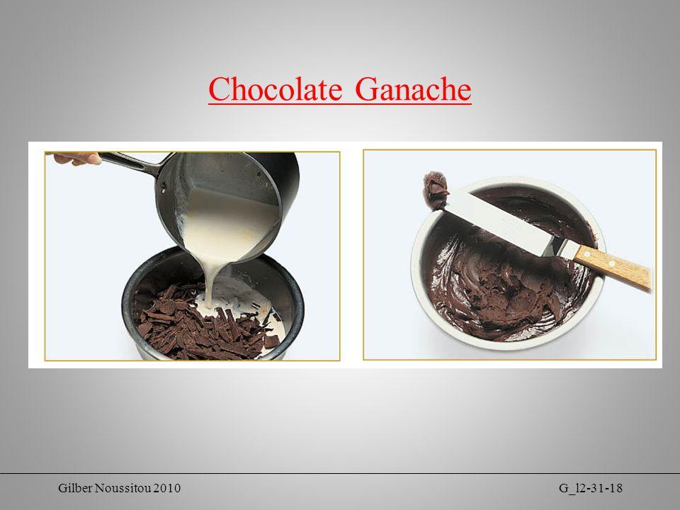 Gilber Noussitou 2010G_l2-31-18 Chocolate Ganache