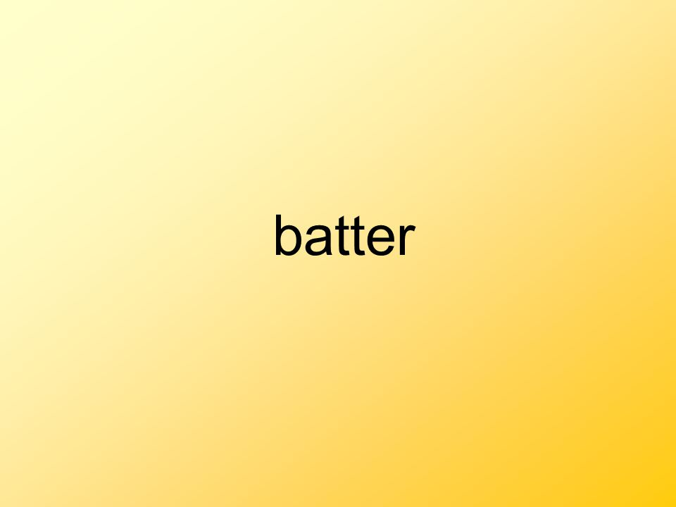 batter Thick liquid mixture used in cooking