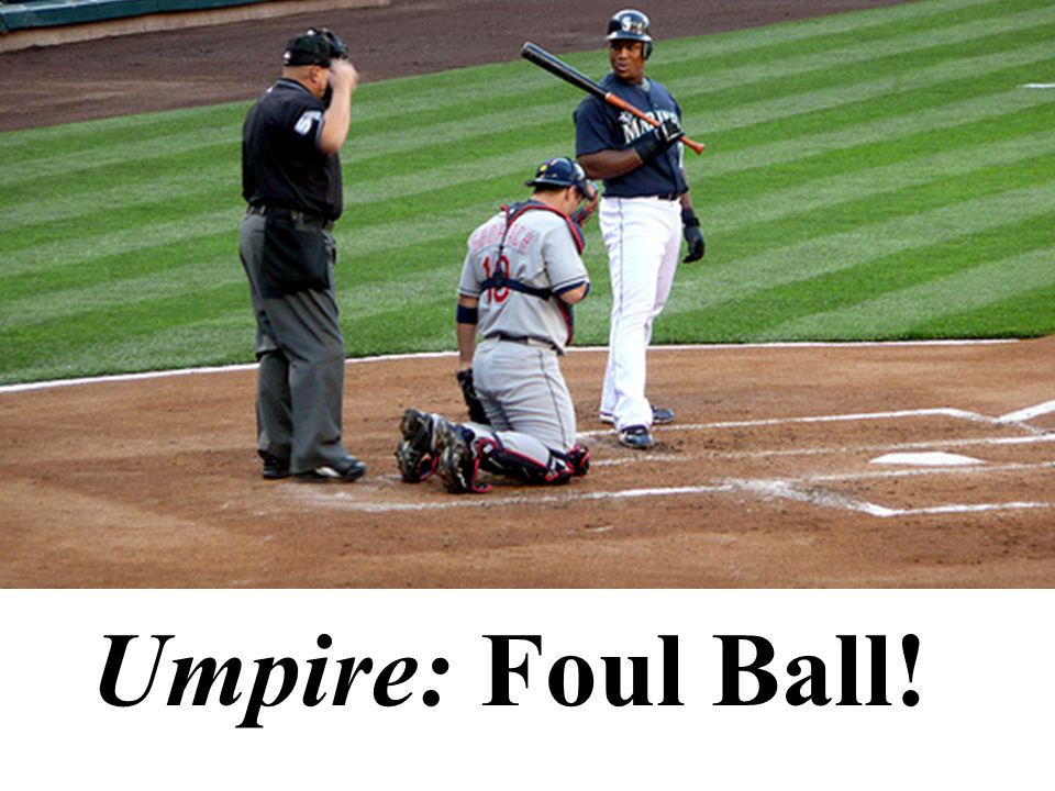 What if umpires could make up their own rules during a game