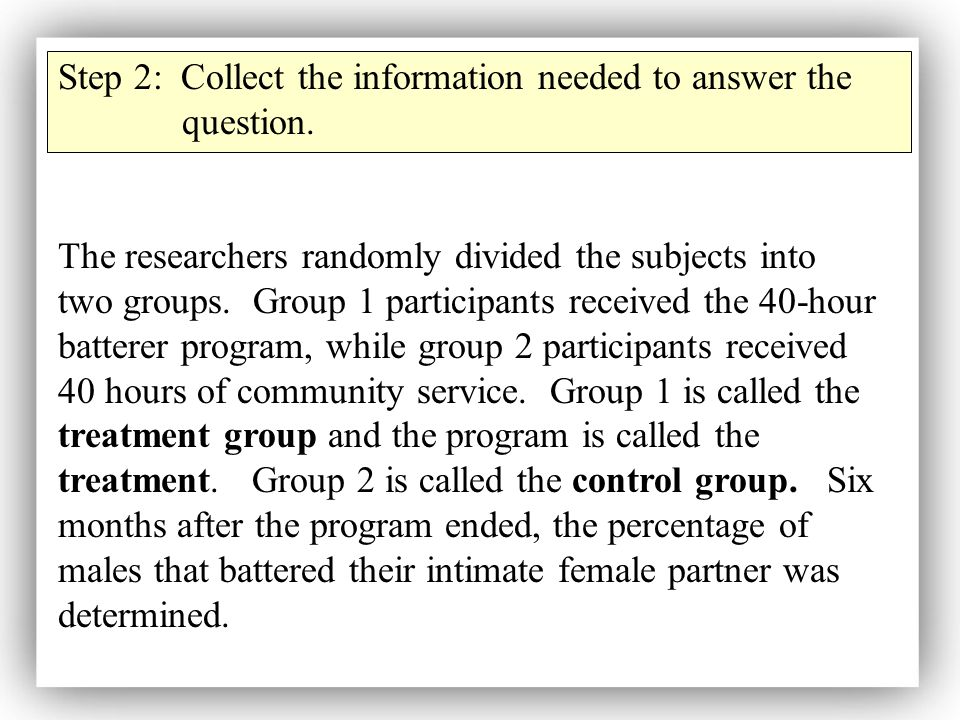 Step 2: Collect the information needed to answer the question.