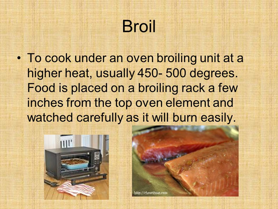Brown Cooking food in a small amount of fat over moderate or high heat until the surface is browned.