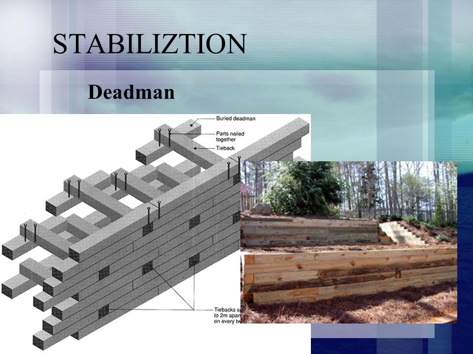 STABILIZTION Deadman