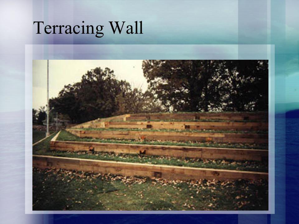 Terracing Wall