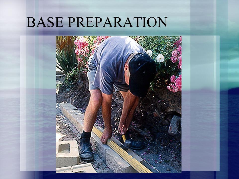 BASE PREPARATION
