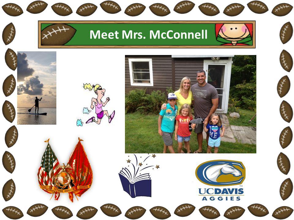 Meet Mrs. McConnell