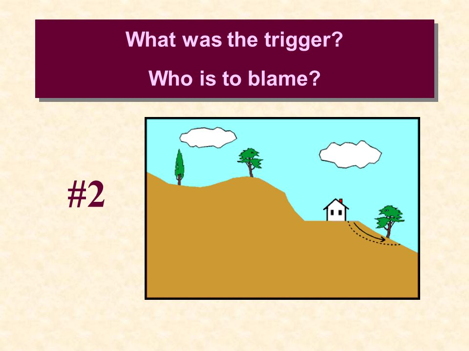 What was the trigger? Who is to blame? #2