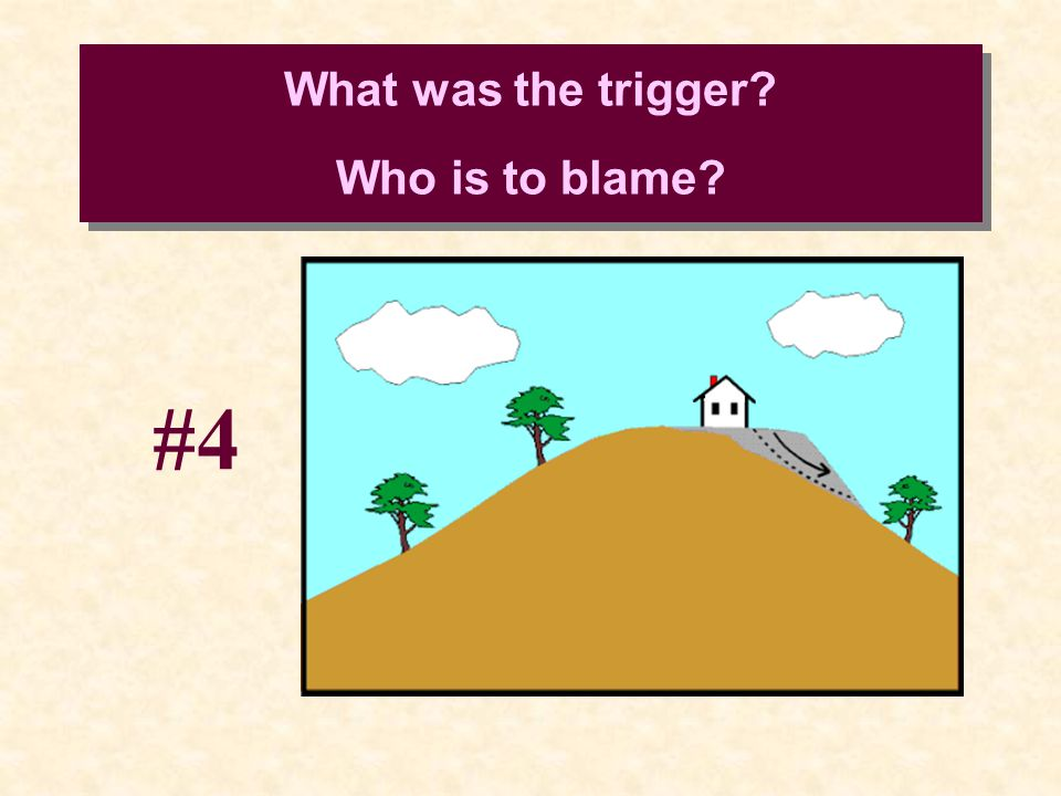 What was the trigger? Who is to blame? #4