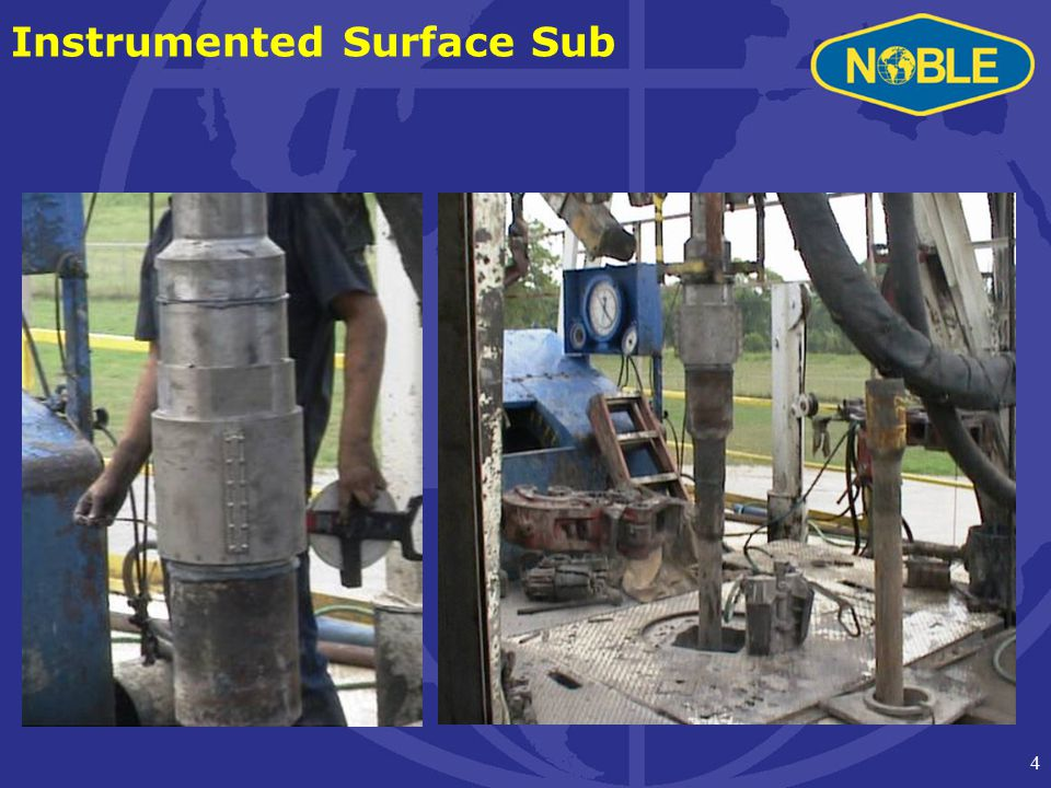 4 Instrumented Surface Sub
