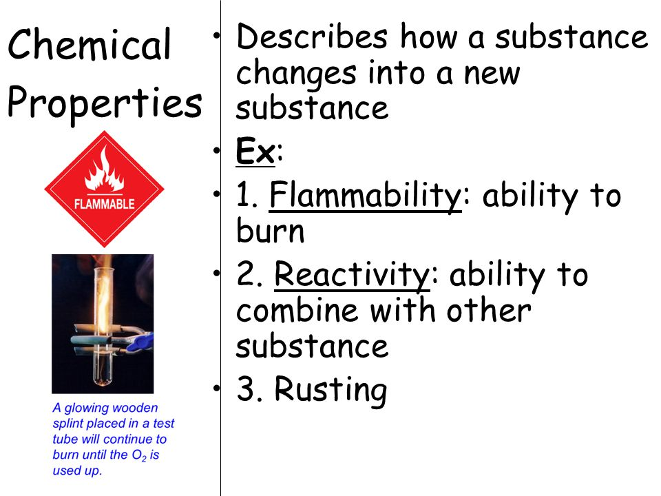What physical properties do you observe in copper.