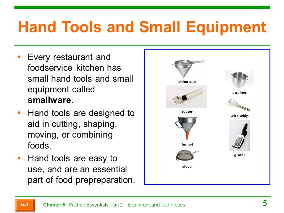 Section 5.3 Summary  Heat is transferred to food in three ways:  Conduction  Convection  Radiation  Types of cooking methods include dry-heat cooking, moist-heat cooking, and combination-cooking methods.