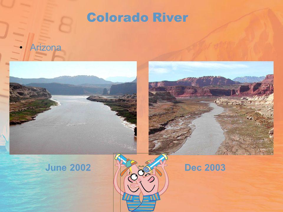 Colorado River Arizona June 2002Dec 2003
