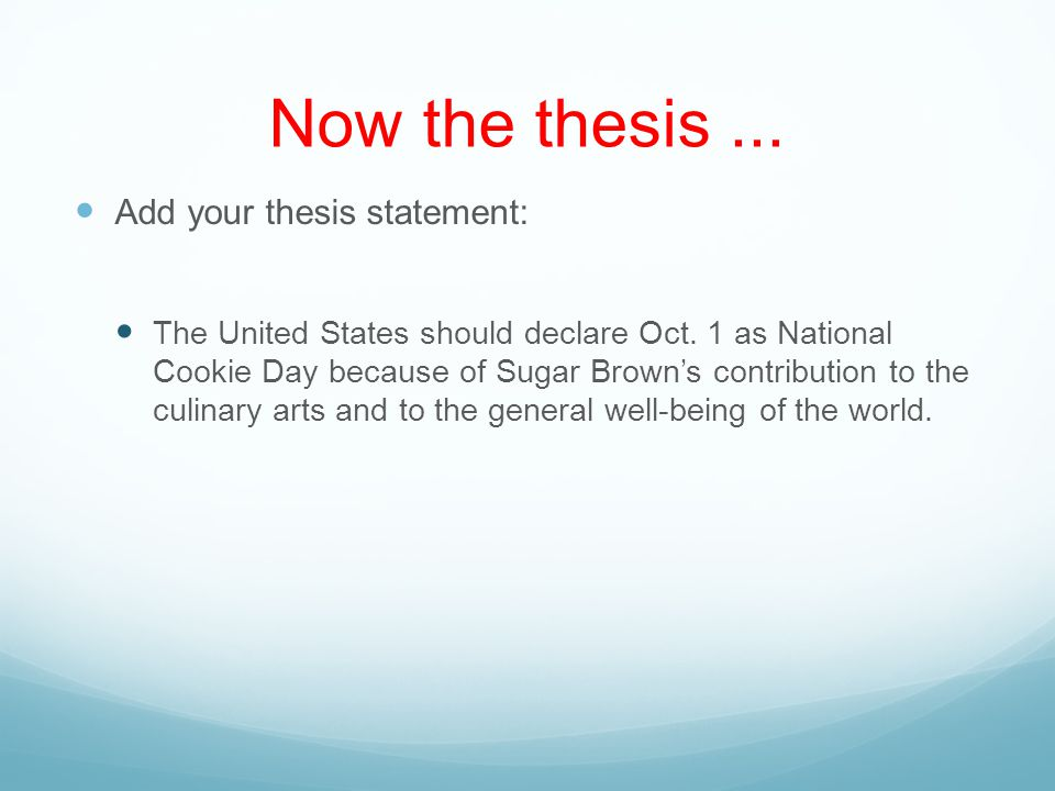 Finished Introduction Of the 93.5% of people who eat cookies on a daily basis, few of them know that the tasty treat was invented accidentally by a woman named Sugar Brown.