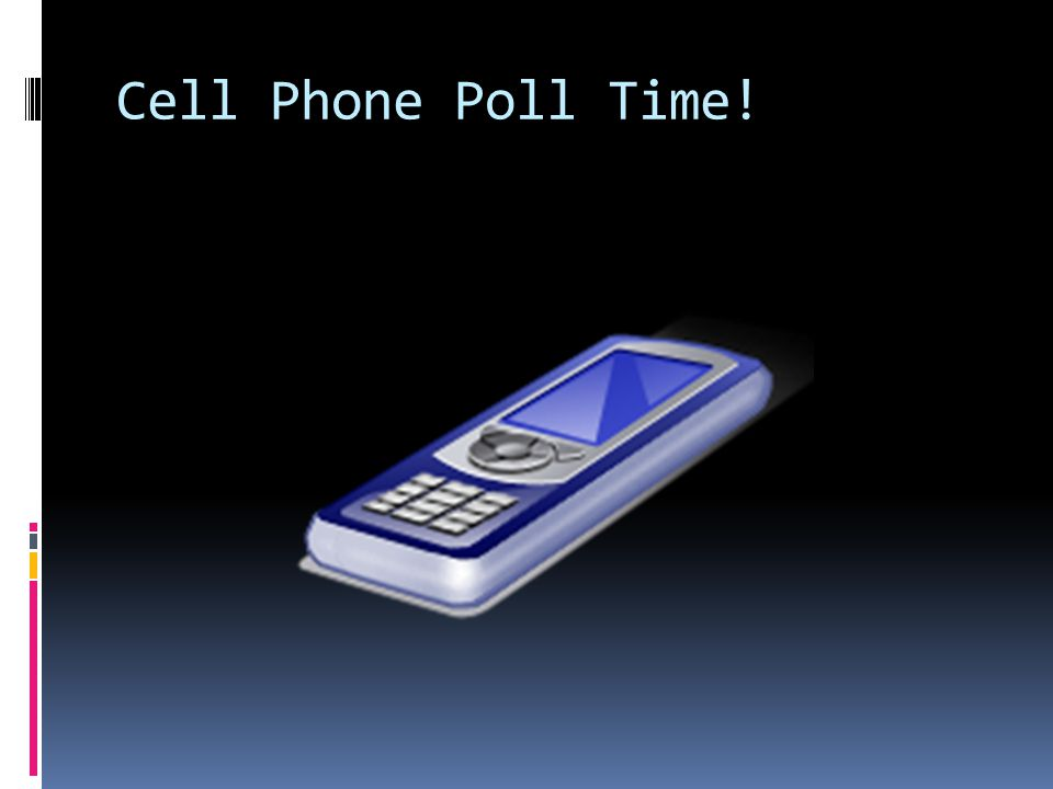 Cell Phone Poll Time!