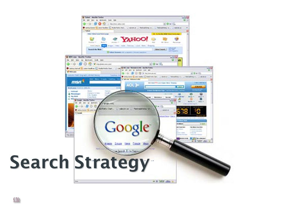 Search Strategy (3)