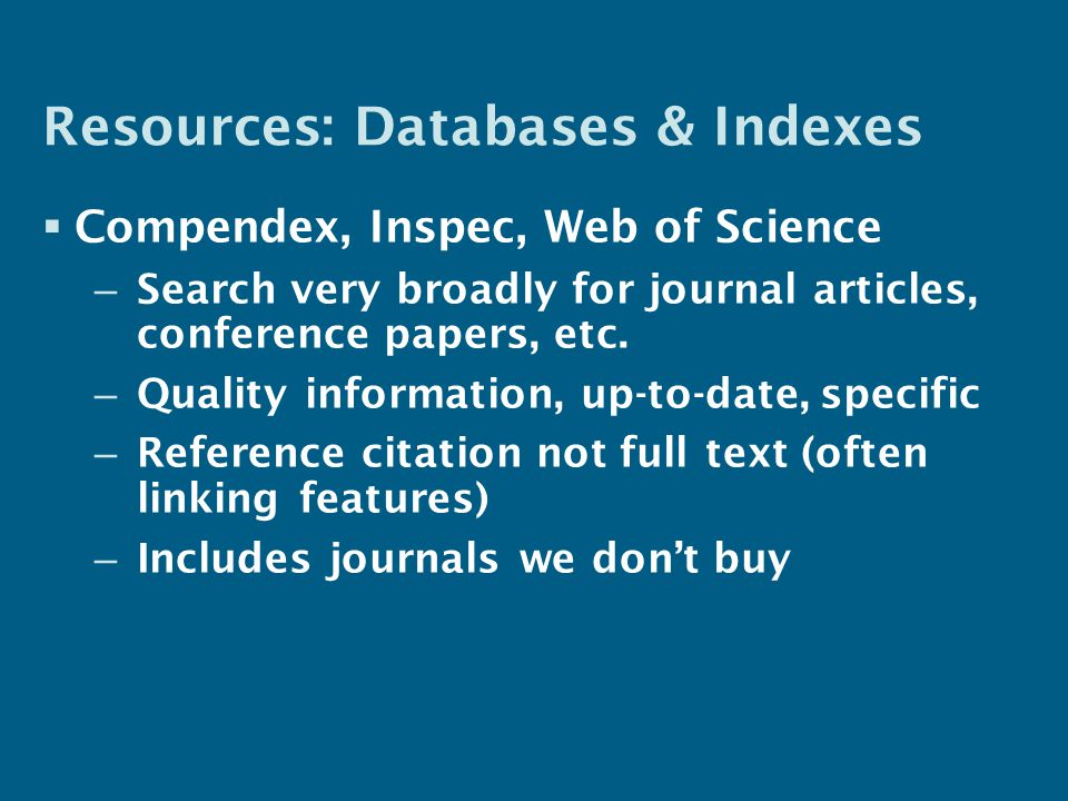 49 Click here to see all citing articles Web of Science has a useful citation linking feature